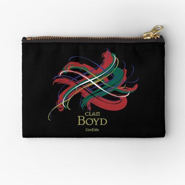 Clan Boyd  Zipper Pouch