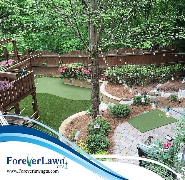 Synthetic Grass Ontario by ForeverLawnGTA