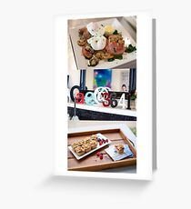 cafe3641triptych Greeting Card