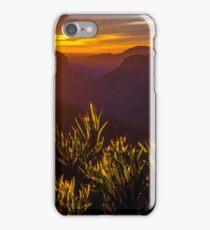 Grose valley iPhone Case/Skin