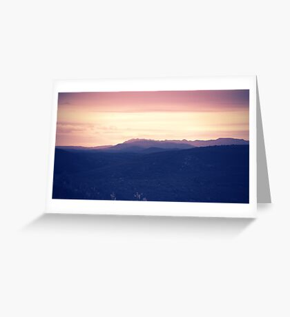 Going to rise up, find my direction magnetically Greeting Card