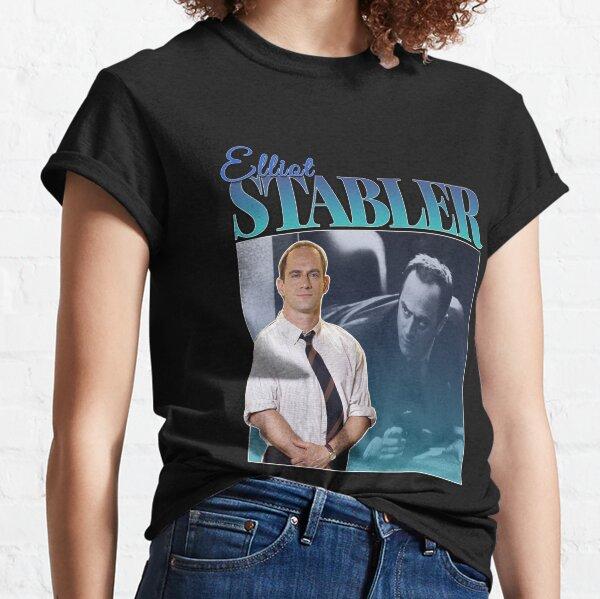 Elliot Stabler 90s Inspired Vintage Homage Classic T-Shirt