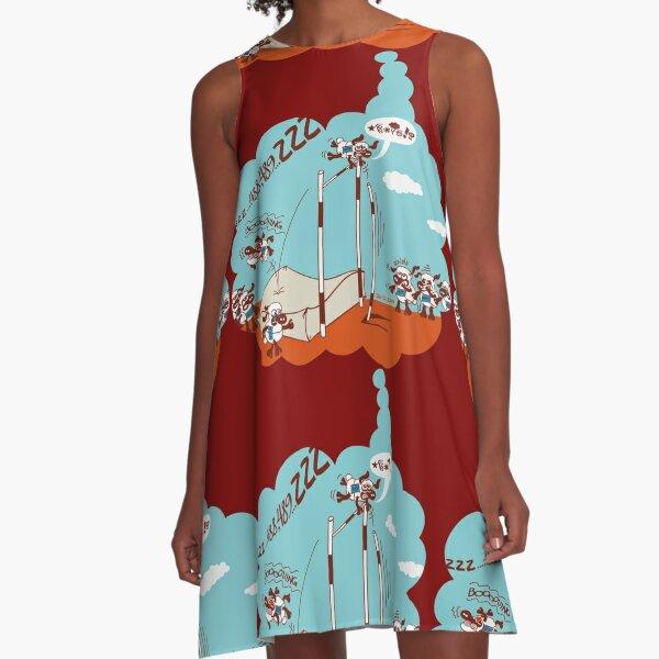 Chronic Insomnia A-Line Dress