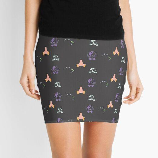 Holistic Namaste Meditation Mini Skirt