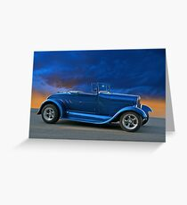 1928 Ford 'Rumble Seat' Roadster Greeting Card