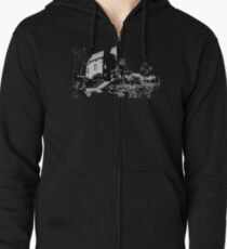 Welcome to Bates Motel Zipped Hoodie
