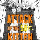 «Ataque del gatito de 50 pies en Brooklyn» de play