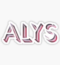Alys Sticker