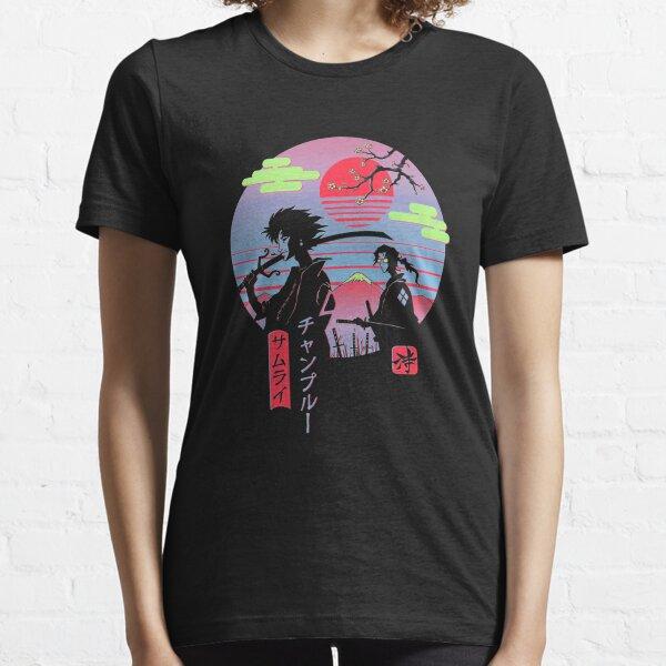 Neon Austetic Retro Chillhop Essential T-Shirt