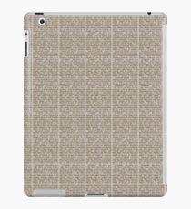 Unreadable Text iPad Case/Skin