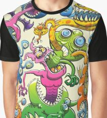 Messy and Monstrous Graphic T-Shirt