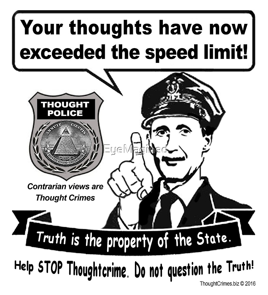 Thought Police by EyeMagined