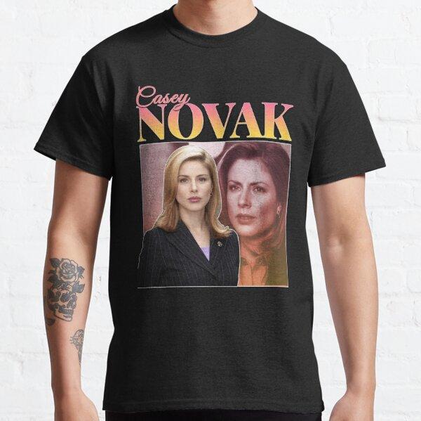 Casey Novak 90s Inspired Vintage Homage Classic T-Shirt