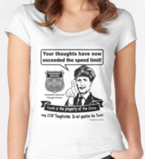 Thought Police Women's Fitted Scoop T-Shirt