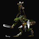 « Emysfer - Barbare skeltus » par Alnomcys