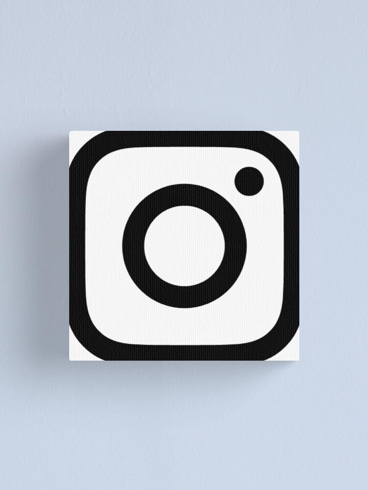 Instagram Logo Weiß
