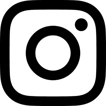 New Instagram Logo Black&White by albertfolguera