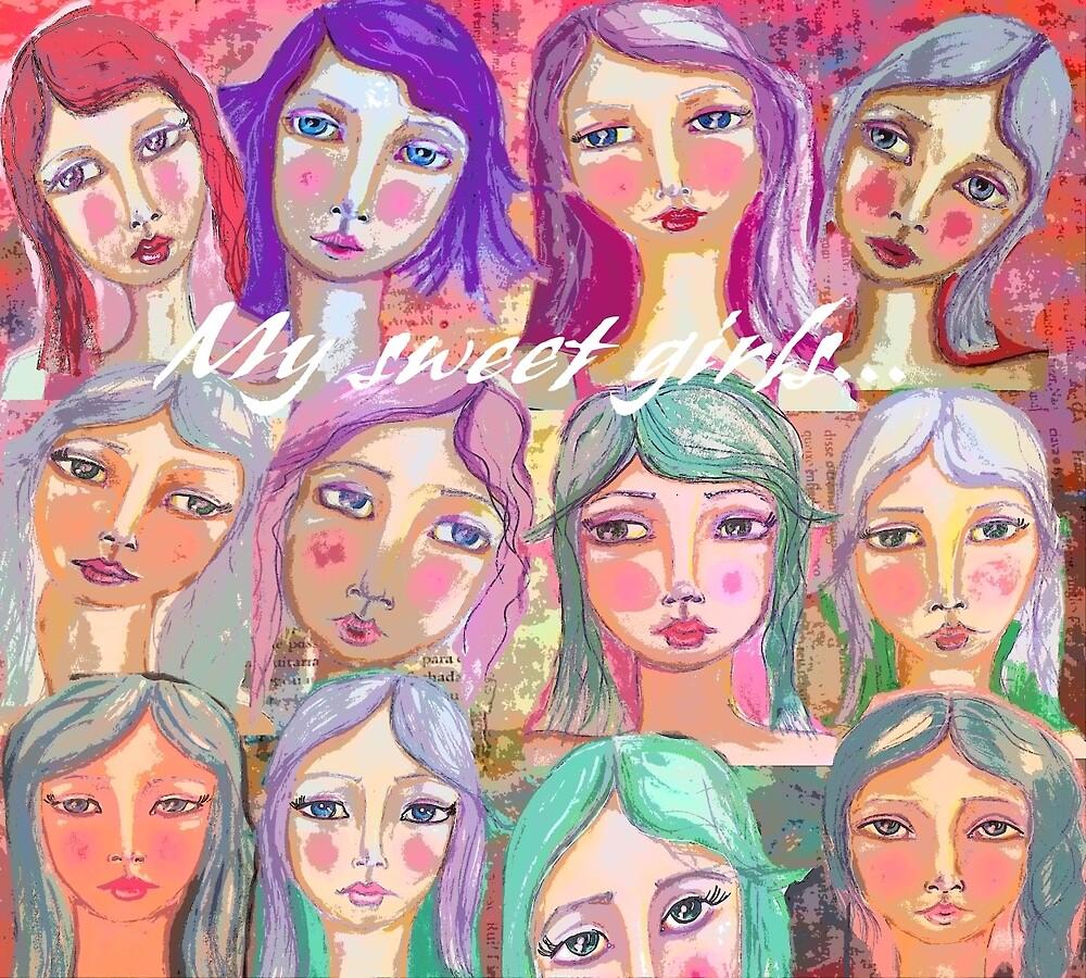 My sweet girls by Saraiaguiar