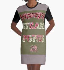 Steam Punk Graphic T-Shirt Dress