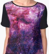Tarantula Nebula Double Metatron's Cube Mewtwo Women's Chiffon Top