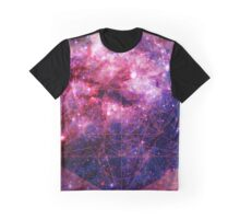 Tarantula Nebula Double Metatron's Cube [Mew] Graphic T-Shirt