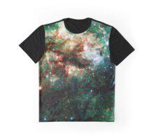 Tarantula Nebula Double Metatron's Cube [Christmas Tree] Graphic T-Shirt