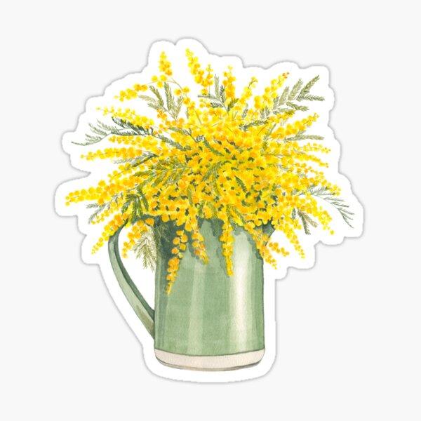 Bouquet de mimosas Sticker