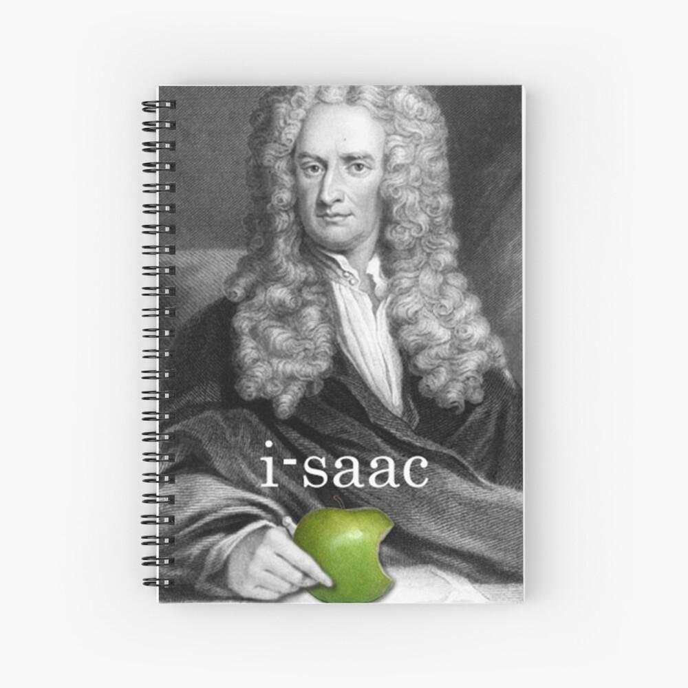 i-saac Newton Cuaderno de espiral