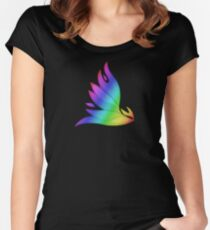 MLP - Cutie Mark Rainbow Special - Spitfire V3 Women's Fitted Scoop T-Shirt