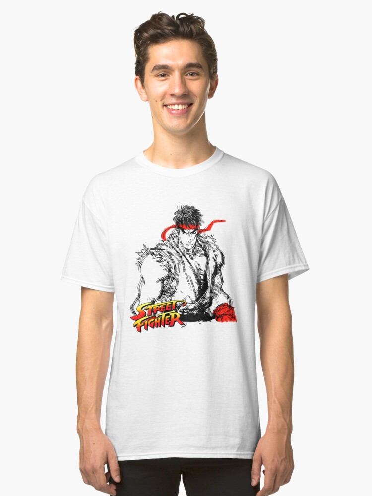 Streetfighter - Ryu Classic T-Shirt Front