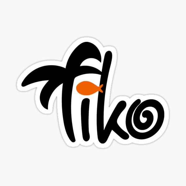 Tiko Signature Gaming Sticker