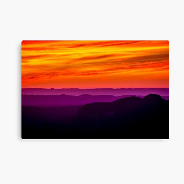 Colourful sunrise Canvas Print