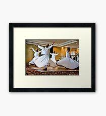 Whirling Dervishes Framed Print