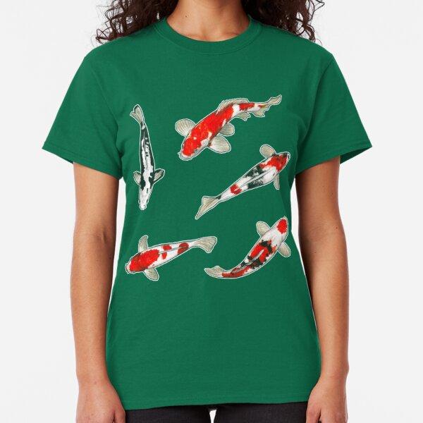 Le ballet des carpes koi Classic T-Shirt