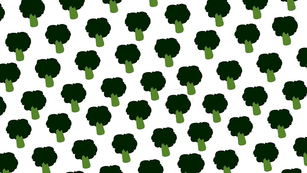 Broccoli pattern by ThenaHoi