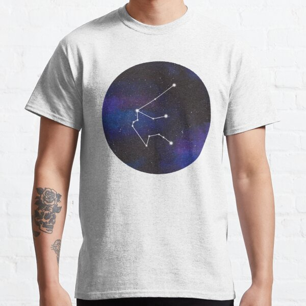 Aquarius - galaxy star constellation Classic T-Shirt