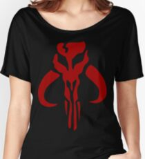 Mandalorian Emblem Women's Relaxed Fit T-Shirt