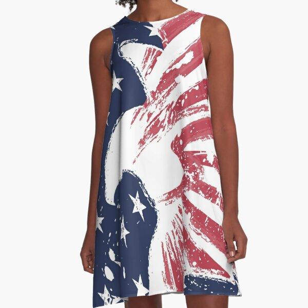 USA A-Line Dress
