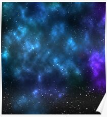 space cloud Poster