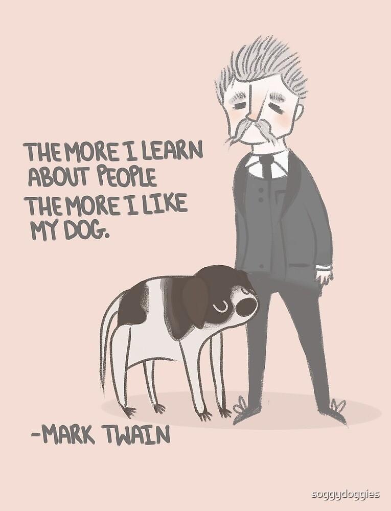 Quote- Mark Twain by soggydoggies