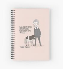 Quote- Mark Twain Spiral Notebook