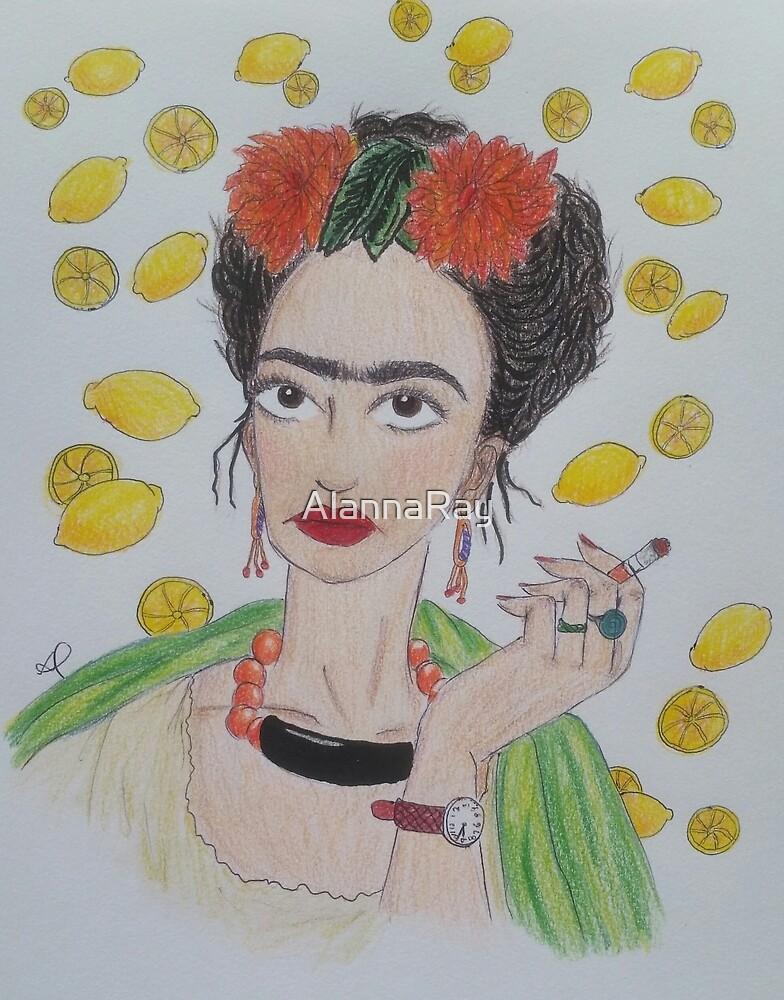 Frida Khalo Likes Lemonade  by AlannaRay