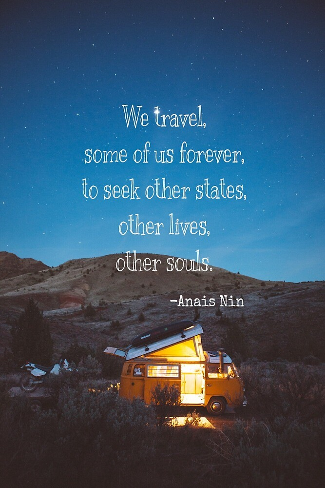 We travel, some of us forever by lisarodionova40