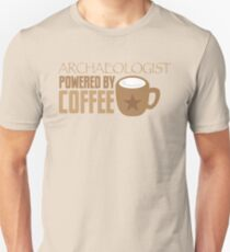 Archaeologist powered by coffee Unisex T-Shirt