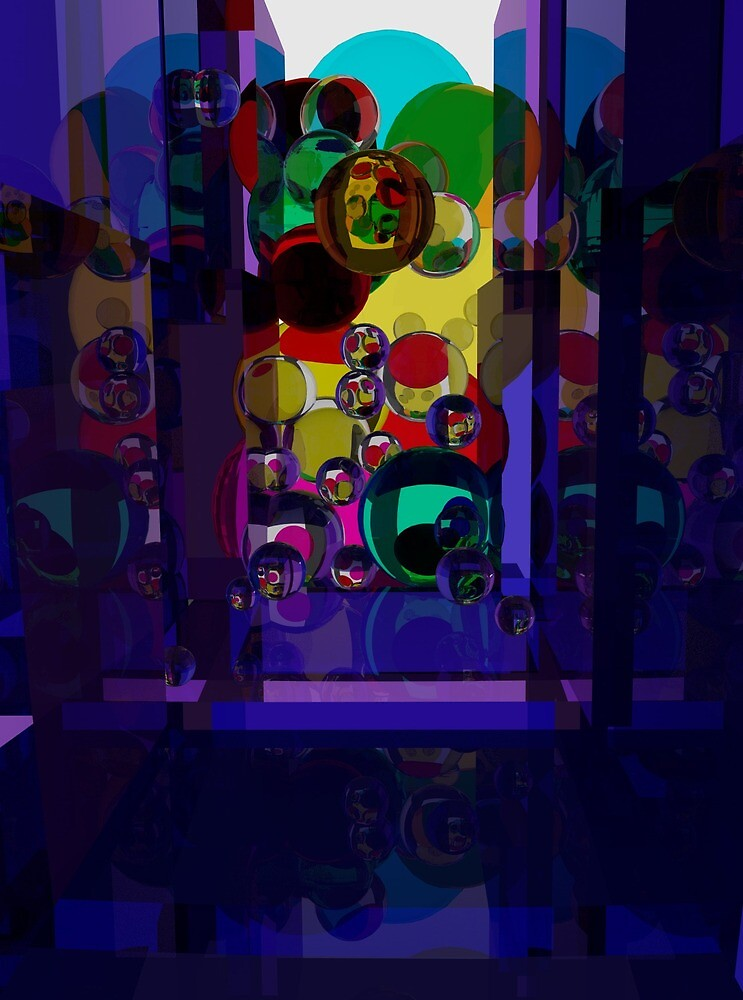 Glass Corridor by BrainwaveArt