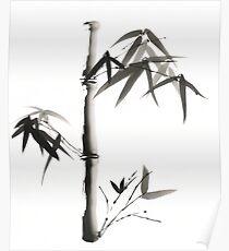 Peaceful Bamboo Poster
