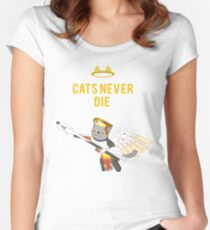 Meowcy Women's Fitted Scoop T-Shirt