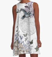 astrological garden party A-Line Dress
