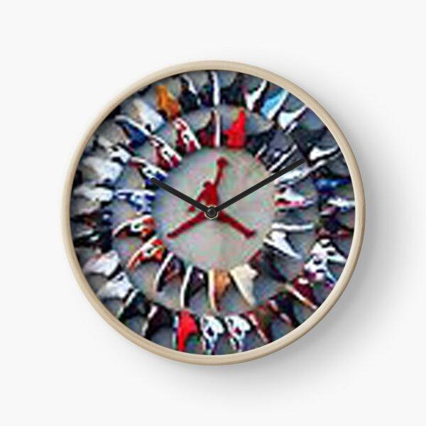Circle of Sneakers Clock