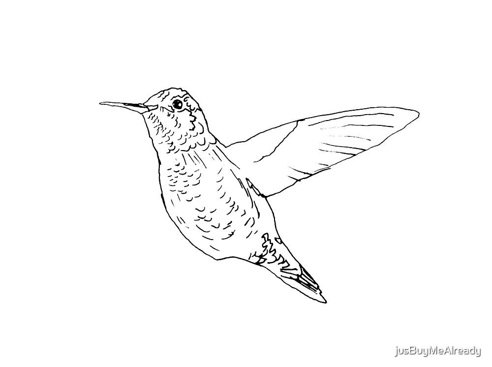 Humming Bird by jusBuyMeAlready
